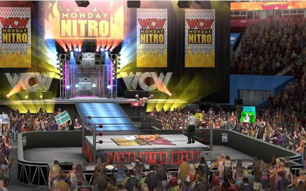 WCW Nitro arena in SvR 2011