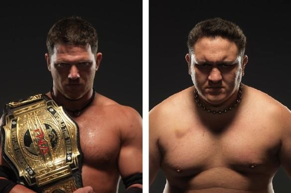 Wrestling, Pro Rasslin, AJ Styles, Samoa Joe
