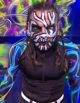 Jeff Hardy, TNA, Impact, facepaint, makeup, WWE