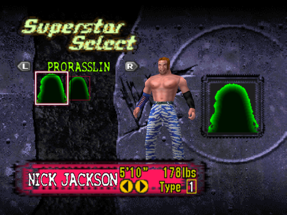 Young Buck Nick Jackson custom made in N64 No Mercy