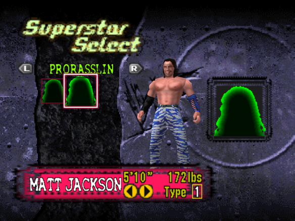 Young Buck Matt Jackson Custom from N64 No Mercy