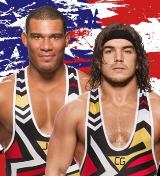 American Alpha, Chad Gable, Jason Jordan, WWE, tag team, patriotic, Smackdown, Backlash