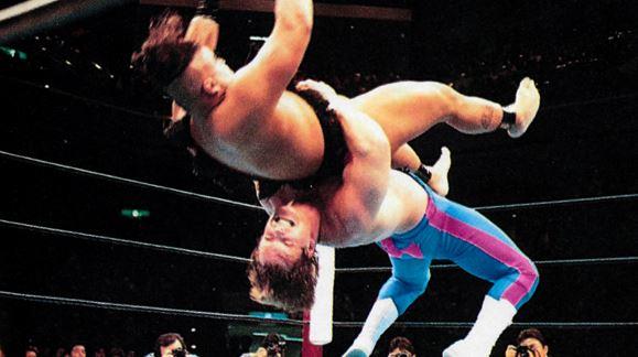Chris Benoit, WWE, WWF, Japan, NJPW, Taz, Wild Pegasus, Pegasus Kid, suplex, German Suplex, Tasmaniac