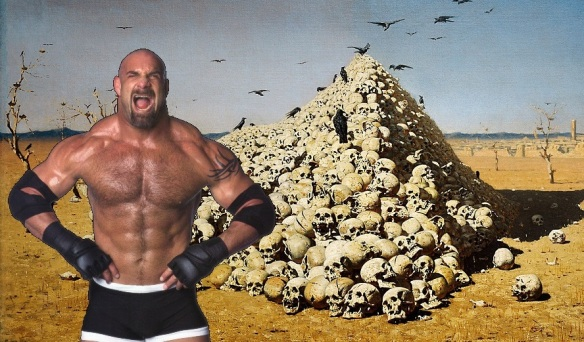 Goldberg, Bill goldberg, wcw, wwe, background, undefeated, wwf