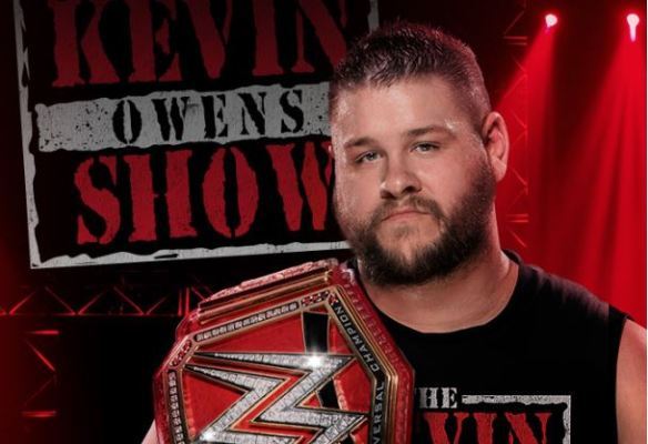 Kevin Owens Show, Kevin Steen, Universal Champion, KO, Raw, WWF, WWE, Backlash