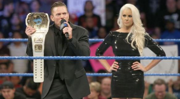 Miz, Maryse, IC Title, Intercontinental Champion, Smackdown, WWE, WWF, wrestling, Backlash, Ziggler